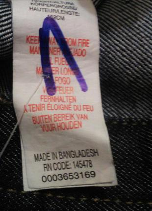 Оригинальные шорты мальчику 11-12 лет denim co primark бангладеш4 фото