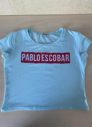 Укороченая футболка