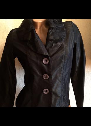 Kaos италия роскошный пиджак кофта из сеточки шифона и атласа