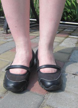 Летние спортивные туфли мокасины кроссовки р. 36,5
