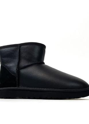Ugg classic ii mini black leather