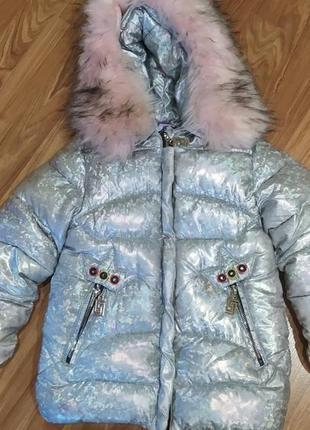 Курточка на девочку! рост 104-110