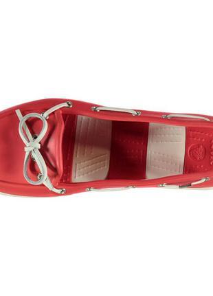 Мокасины crocs beach boat shoes ladies, w8