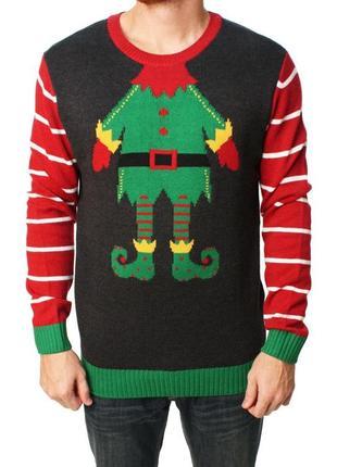 Новогодний свитер эльф