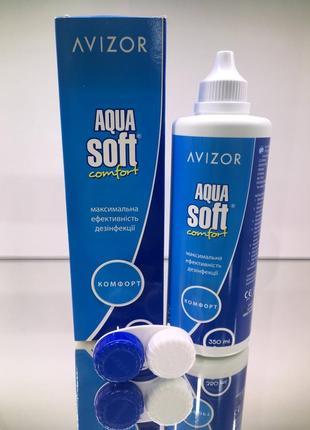 Avizor aqua soft многофункциональный раствор для контактных линз