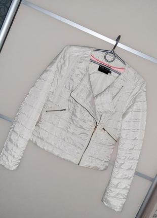 Стеганная куртка ветровка жакет miss real👍