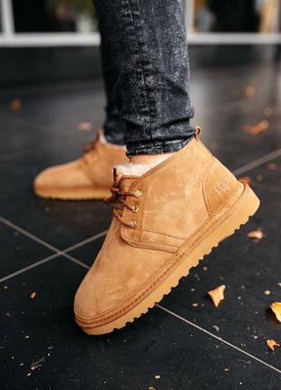Ugg neumel chestnut угги уггі ботинки черевики