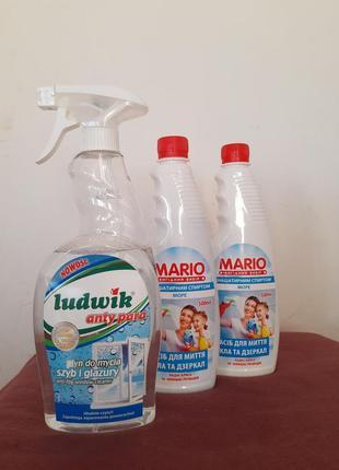 Засіб для миття вікон ludwik
