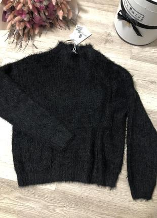 Пушистый свитер jennyfer, размер xs-m