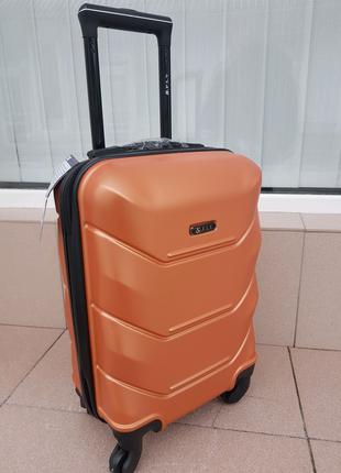 Чемоданы дорожные фирма fly 147 luggage оранжевый