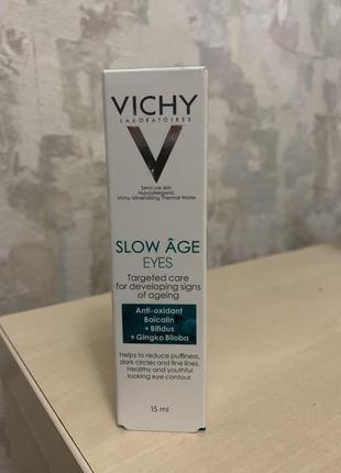 Крем под глаза slow age vichy