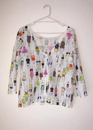Новая дизайнерская блуза от love