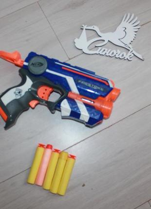 Пистолет пневматический nerf оригинал (hasbro)