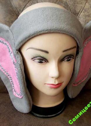 Уши для карнавального костюма