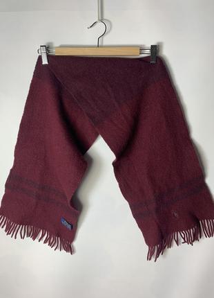 Шерстяной шарф polo ralph lauren