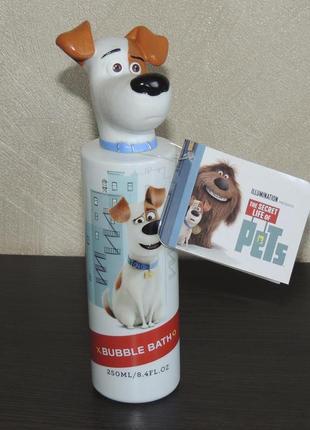 The secret life of pets max 250 мл пена для ванны