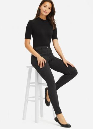 Ультра-стрейчевые брюки-леггинсы uniqlo (ultra-stretch leggings trousers)