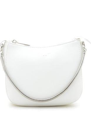 5093 david jones сумка белая через плечо