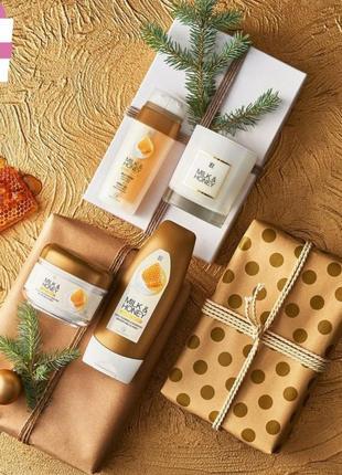 Подарочный набор для тела milk and honey