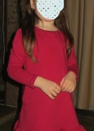 Очень красивое платье на девочку на р.110-116см