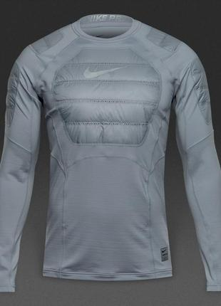 Супер пушка (кофта, термуха) от nike pro hyperwarm aeroloft long sleeve men's training