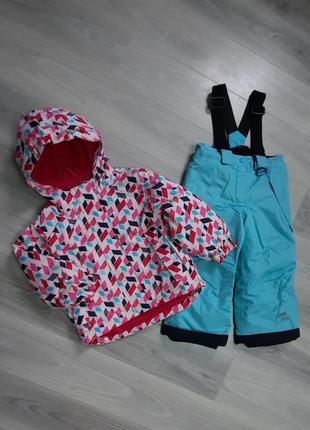 Мембранный термо комплект (куртка + штаны) от lupilu 86/92 см