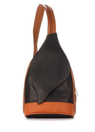 Рюкзак кожаный италия