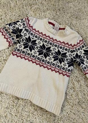 Рождественский свитер 104см