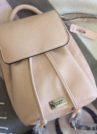Пудровый рюкзак victoria's secret оригинал.