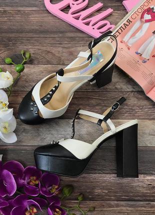 Эффектные туфли daisy street с декоративными шипами  sh26105  daisy street