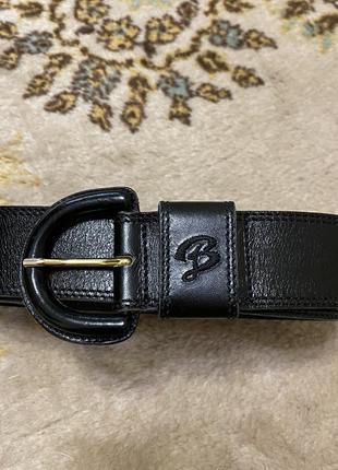 Кожаный пояс ремень на талию bogner