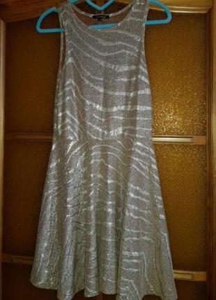 Платье переливающееся