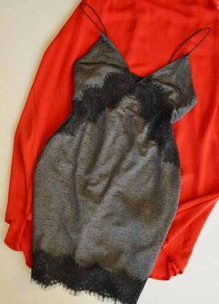 Платье topshop с кружевом