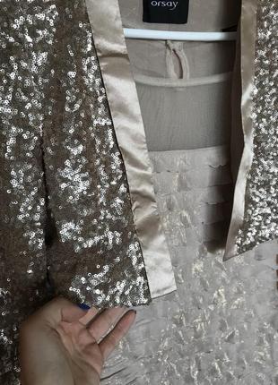 Мини пиджак + платье