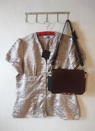Новая нежная блуза с деликатным принтом 🔸 la redoute