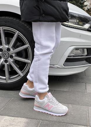 Шикарные женские зимние ботинки топ качество new balance 🎁❄️😍