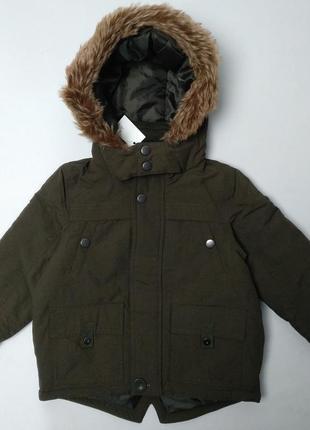 Демисезонная курточка для мальчика с капюшоном george