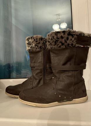 Сапоги зимние, сапоги, замеряя обувь