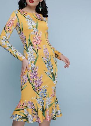 Стильное праздничное платье