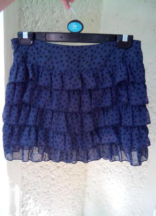 Новая синяя юбка atmosphere