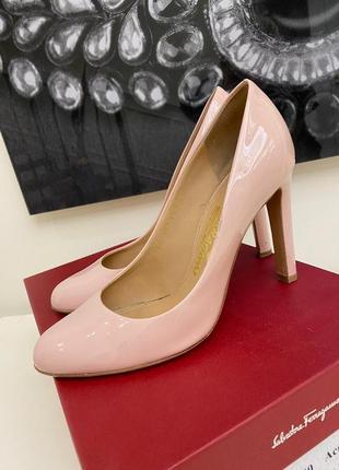 Итальянские туфли salvatore ferragamo 37 р