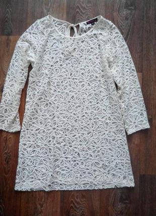Ажурное платье/накидка на купальник (универсальная вещь)