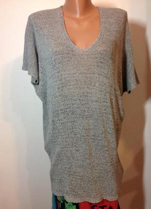 Бутиковая итальянская блуза - оверсайз