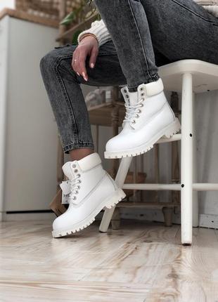 Шикарные женские зимние ботинки топ качество timberland ❄️🎁😍