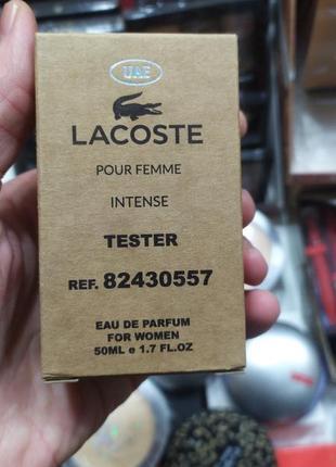Lacoste женский аромат