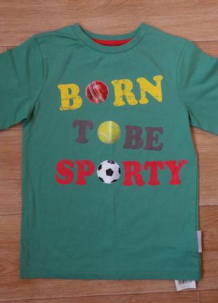 Новая футболка на мальчика mothercare