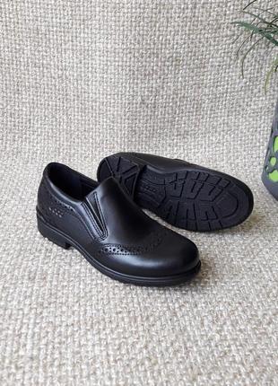 Туфлі шкіряні оригінал ecco 730172 розмір 27