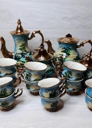Кофейно-чайный сервиз на 6 персон