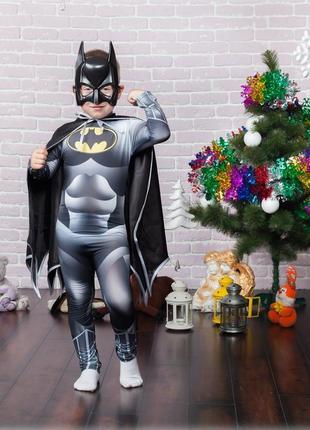 """Детский костюм """"бэтмен"""" 5-10 лет"""