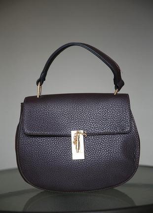 Низкая цена,качественная сумка, цвета шоколад